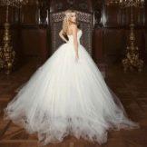 Пышное свадебное платье от ange etoiles