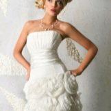 Короткое свадебное платье ange etoiles