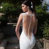 Свадебное платье с открытой спиной от Berta Bridal