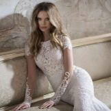 Свадебное платье кружевное от Berta Bridal