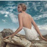 Свадебное платье с открытой спиной от Зухаира Мурада