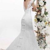 Свадебное платье с открытой спиной от Рарилио