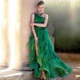 Вечернее платье от Carla Ruiz на одно плечо
