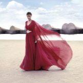 Вечернее платье  от Carla Ruiz красное
