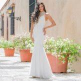 Вечернее летнее платье белое