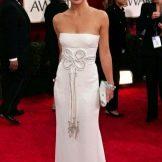 вечернее белое платье Кейт Хадсон