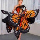 Платье-бабочка вечернее