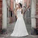 Свадебное платье русалка из коллекции Венеция от Габбиано