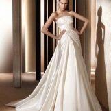 Свадебное платье из коллекции 2012 от Эли Сааба