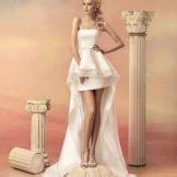 Свадебное платье из коллекции «Эллада» короткое