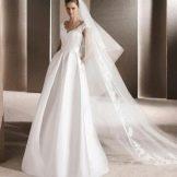Свадебное платье от La Sposa не пышное