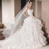 Свадебное платье от La Sposa пышное