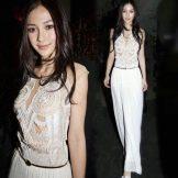 Белое вечернее платье из Китая