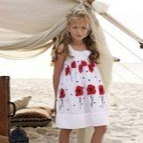 Летнее платье для девочки 4 лет