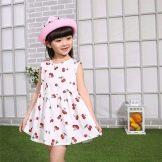 Летнее платье для девочки 3 лет