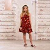 Летнее платье-сарафан для подростка