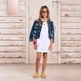 Летнее платье-поло для подростка