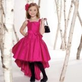 Новогоднее платье для девочки хай-лоу