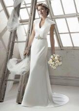 Свадебное платье русалка простое