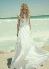 Пляжное свадебное платье в стиле бохо