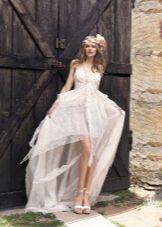 Свадебное пляжное платье бохо