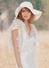 Богемный стиль свадебного наряда