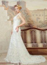 Свадебное платье из кружева от Anna Delaria