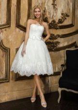 Короткое свадебное платье от Yusupova Couture