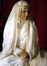 Украшения свадебного хиджаба