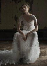 Кружевное прозрачное платье от VeraWang