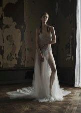 Свадебное прозрачное платье от VeraWang