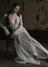 Прозрачное свадебное платье от VeraWang