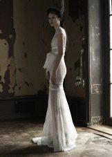 VeraWang откровенное свадебное платье