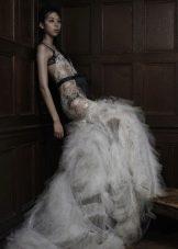 Платье свадебное откровенное от VeraWang