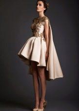 Свадебное платье со шлейфом Ватто