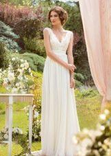 Свадебное платье рустикальное