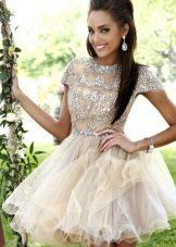 Свадебное платье в стиле беби дол