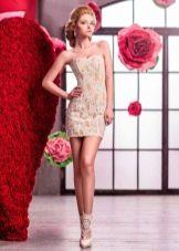 Ультракороткое свадебное платье от Анны Богдан