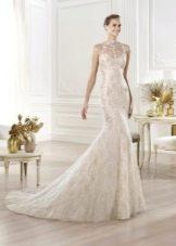 Свадебное платье от Elie Saab русалка
