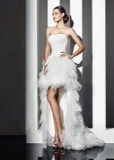 Свадебное платье от Amour Bridal  со шлейфом