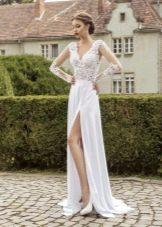 Свадебное платье от Armonia с разрезом