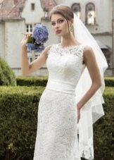 Свадебное платье от Armonia с кружевом