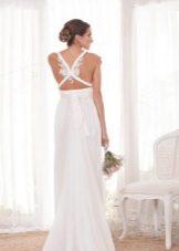Свадебное платье от Анна Кэмпбелл с открытой спиной