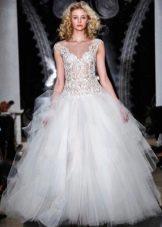 Reem Acra пышное свадебное платье