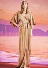 Вечернее платье от gucci с рукаавами