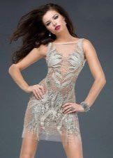 Короткое вечернее платье от Джовани