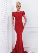 Вечернее платье от Tony Bowls красное