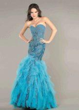 вечернее платье от Джовани русалка