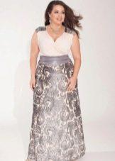 Вечернее платье от Igigi с принтом