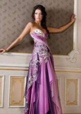 Сереневое платье Оксаны Мухи
